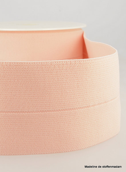 dusty pink -  elastic waist band pre-folded 30 mm