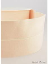 nude - taille elastiek voorgevouwen 30mm