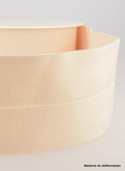 nude - elastic waist band pre-folded 30 mm