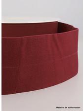bordeaux - taille elastiek voorgevouwen 30mm