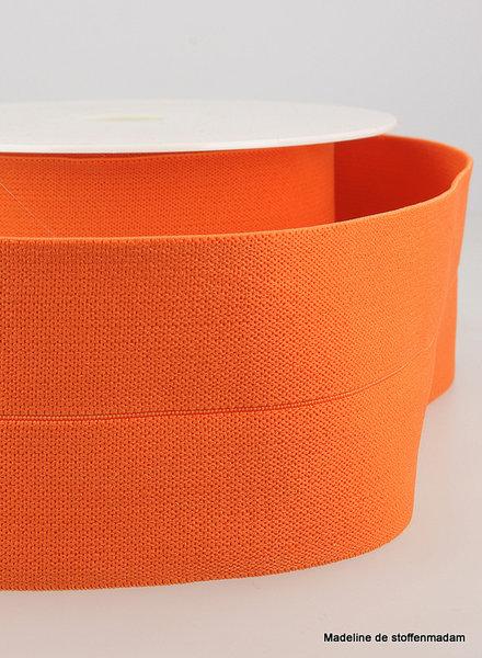 orange -  elastic waist band pre-folded 30 mm