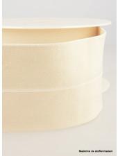 ecru - taille elastiek voorgevouwen 30mm