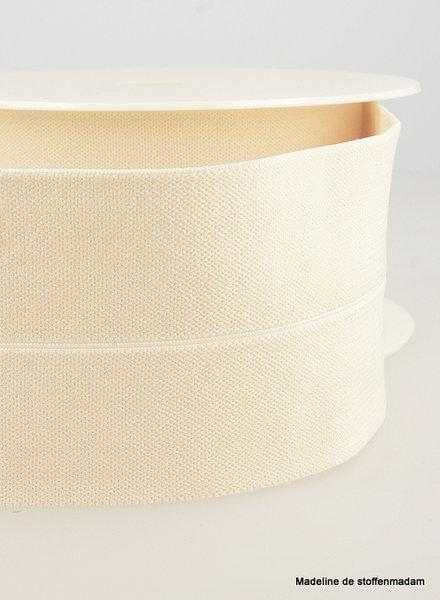 ecru - elastic waist band pre-folded 30 mm