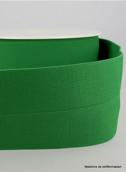 groen -  taille elastiek voorgevouwen 30mm
