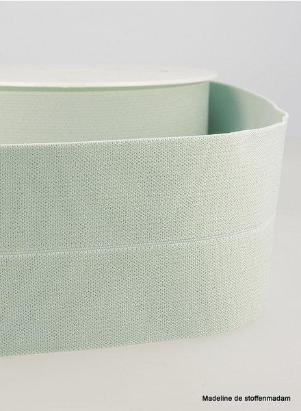 mint - elastic waist band pre-folded 30 mm