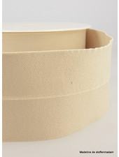 beige - taille elastiek voorgevouwen 30mm