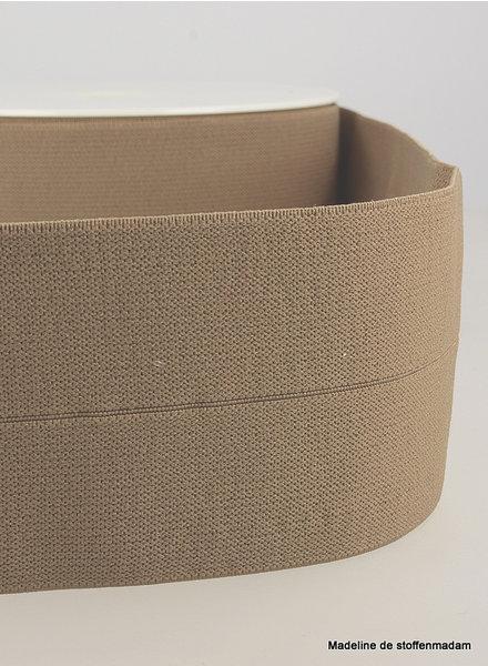 koffie - taille elastiek voorgevouwen 30mm