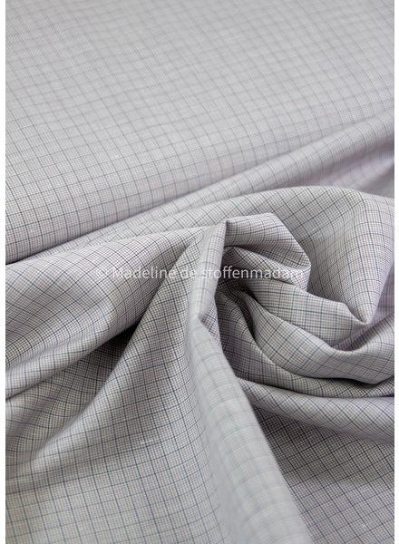 La Maison Victor purple squares  - cotton