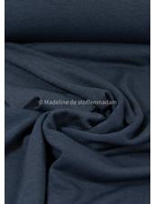 denim - rekbare gebreide linnen viscose mix - linnen tricot