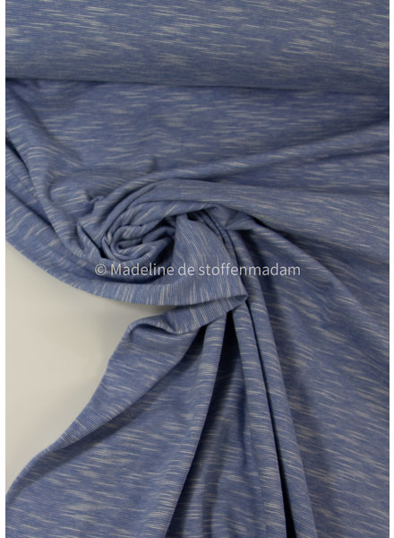 M lila - mooi gemeleerde tricot - 100% organic katoen