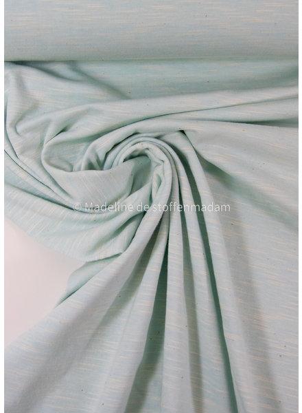 soft mint - beautiful melee jersey - 100% cotton