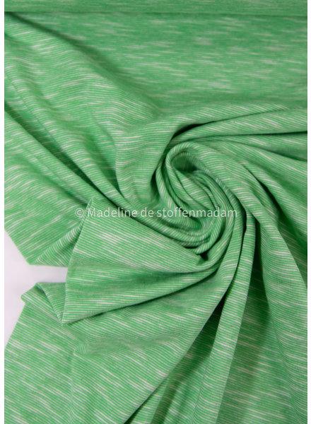 pistache - beautiful melee jersey - 100% cotton