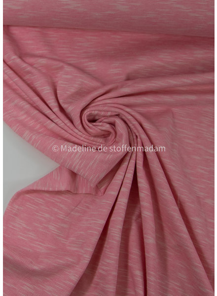 soft pink - beautiful melee jersey - 100% cotton