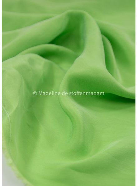 Ipeker - Vegan Textile chartreuze green - 100% vegan cupro