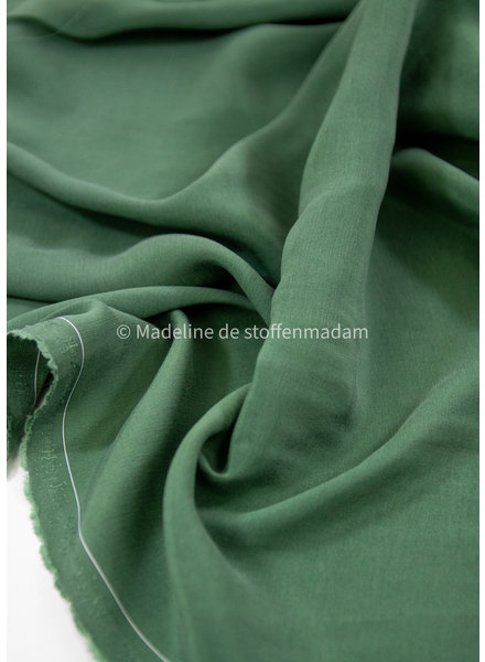 Ipeker - Vegan Textile jade groen - 100% vegan cupro