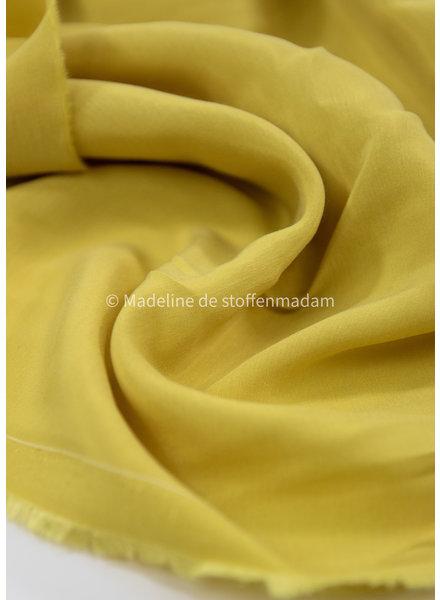 Ipeker - Vegan Textile chartreuze yellow - 100% vegan cupro
