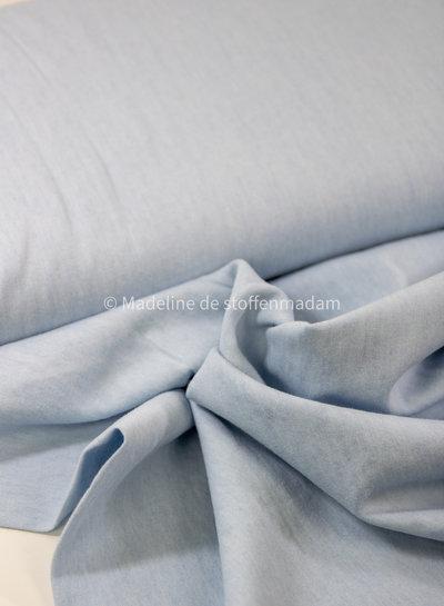 Fibremood chambray - organic cotton - light blue - no stretch - 4.5oz - Rozan