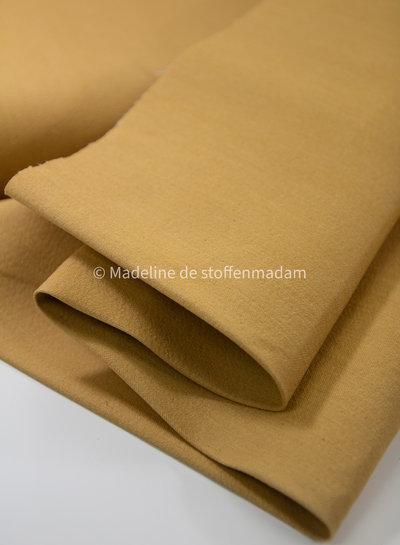 Fibremood denim gabardine - oker - 7.75oz - Babette & Tulia