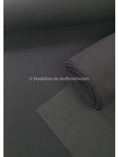 Fibremood antraciet boordstof - 1 meter breedte - Robin/Vera/Joy