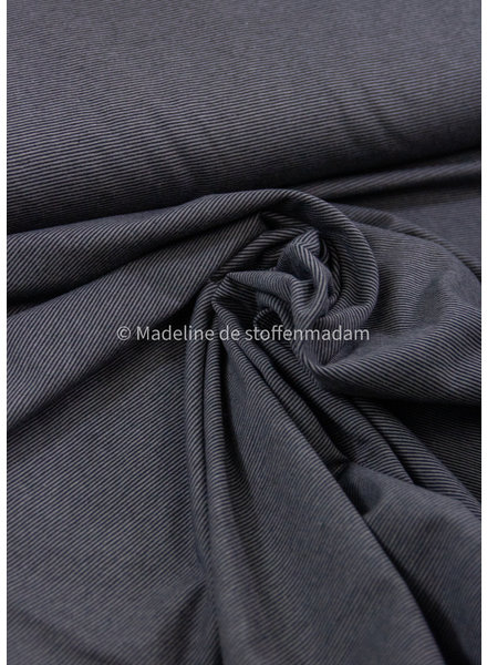zwart dunne streepjes - tricot