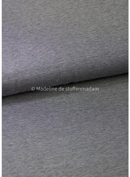 marine dunne streepjes - tricot