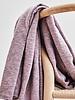 Mind The Maker organic slub jacquard knit - lilac