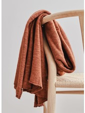 Mind The Maker organic slub jacquard knit - sienna