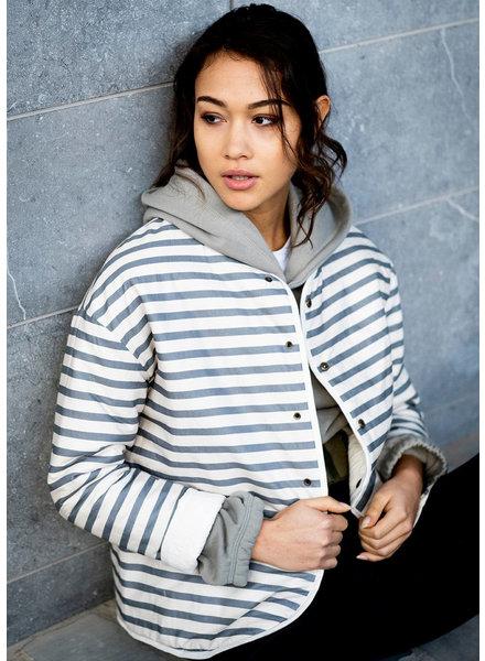 Fibremood striped stretch cotton - Molly