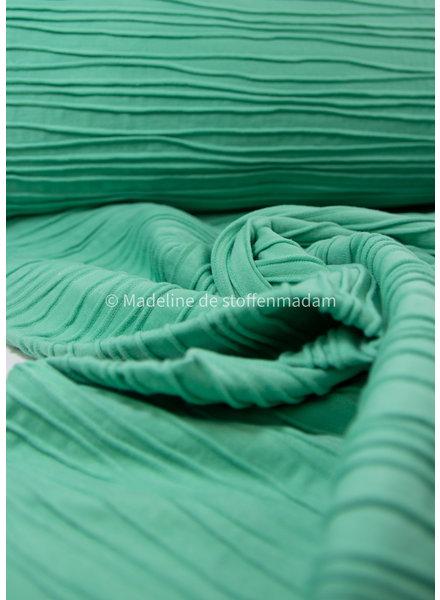 Swafing structured jersey soft green - Peru