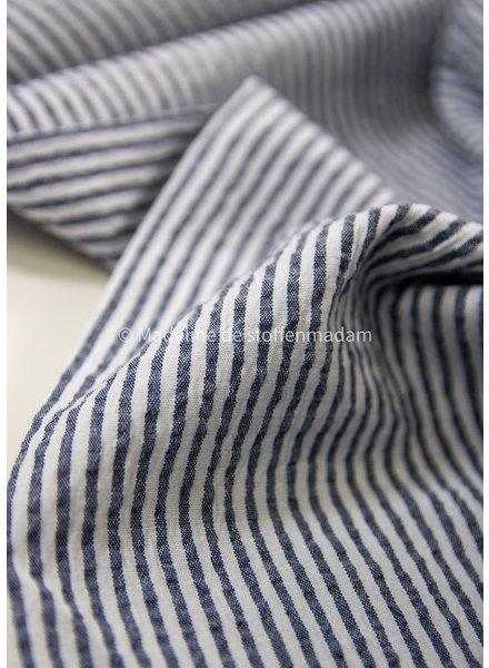 denim striped - seersucker