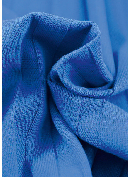 La Maison Victor cobalt - wide rib jersey
