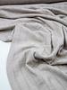 A La Ville beige ribbel structuur - viscose tricot