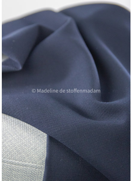 A La Ville marineblauw - Natan broeken en kleedjes kwaliteit - licht rekbaar