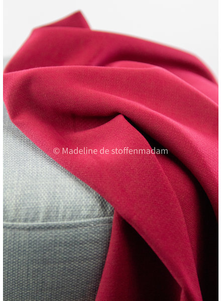 A La Ville dark red -  Natan pants and skirts quality - slightly stretchable