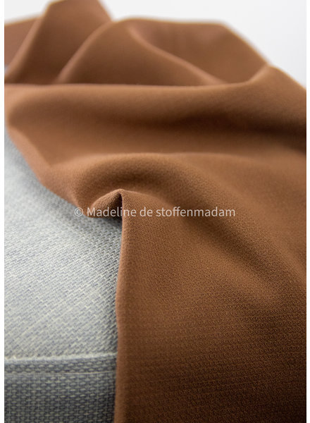 A La Ville bruin - Natan broeken en kleedjes kwaliteit - licht rekbaar