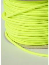 fluorescent yellow - round rayon elastic 3mm