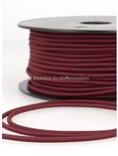 bordeaux - elastische koord 3mm