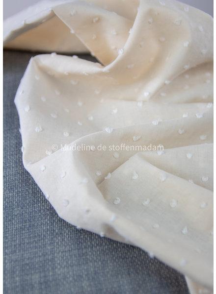 vanille - plumetis