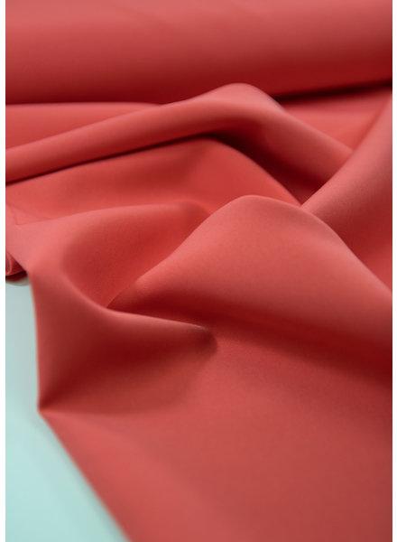 La Maison Victor koraal - soepelvallende mooi doorhangende stof