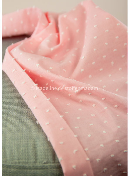 roze - plumetis