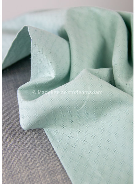 mint - fine embroidery cotton