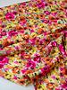 A La Ville summer flowers - satijn