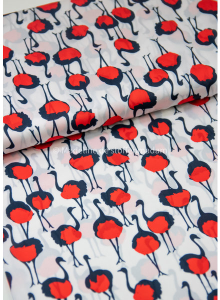 ostriches - satin