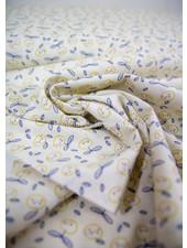 soft yellow apples - cotton