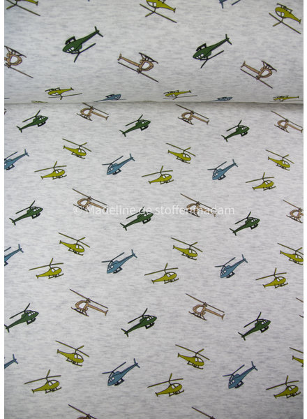 helikopter happy fleece - ecru