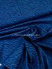 zebra blue - cotton