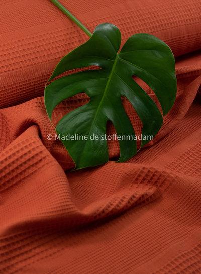 BIO wafelkatoen mixed - mandarijn