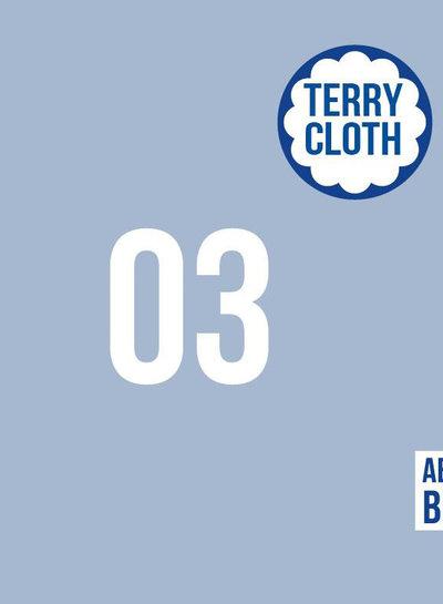 about blue fabrics Cashmere Blue - effen spons UNI 3