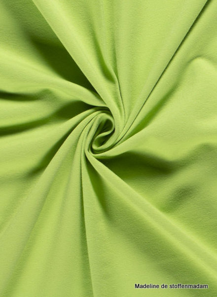 lime green - solid french terry oeko tex