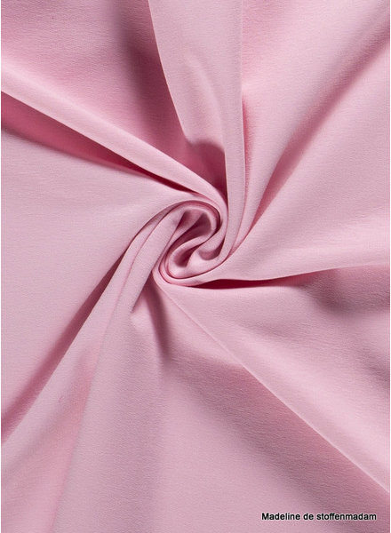 pink - solid french terry oeko tex